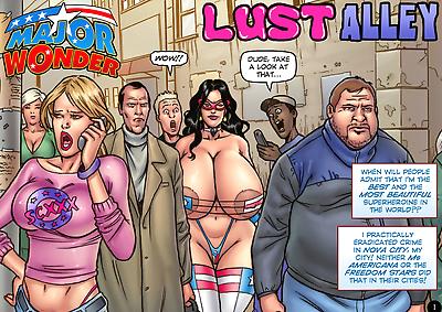 Major Wonder - Lust Alley -..