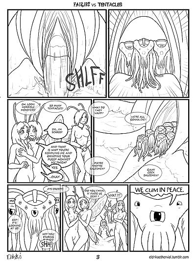 Fairies vs Tentacles
