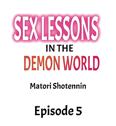 Sex Lessons In The Demon..