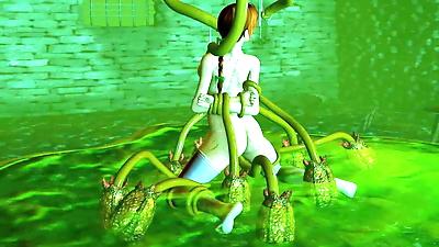 Kasumi tentacle rape