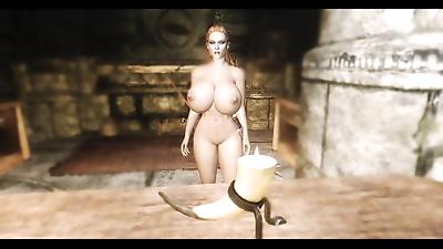 skyrim sex by 里A猫 - part 4